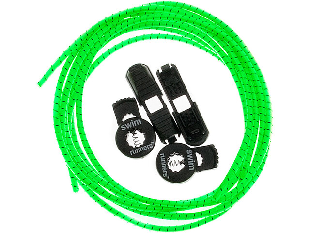 Swimrunners Laces 2x100cm neon green